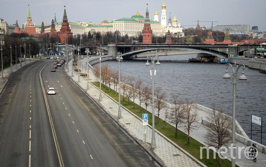 Москва опустела. Фото AFP