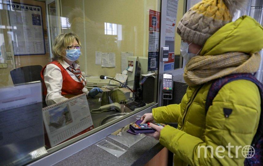 """Разметка нанесена в зонах скопления пассажиров. Фото ОЖД, """"Metro"""""""