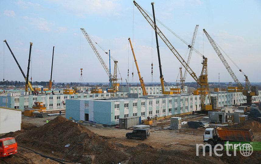 Новая инфекционная больница в Новой Москве будет предназначена для лечения пациентов с коронавирусом. Фото Василий Кузьмичёнок