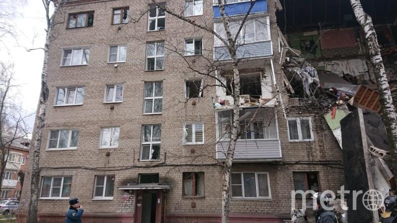 В жилом доме в подмосковном Орехово-Зуево произошёл взрыв газа. Фото https://50.mchs.gov.ru