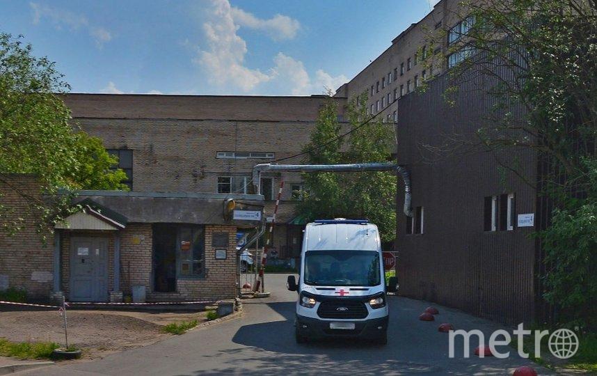 В Александровской больнице коронавирус выявлен у 5 сотрудников. Фото Яндекс.Панорамы