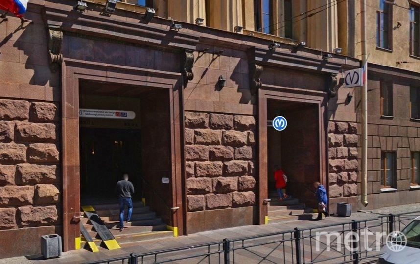 Второй вестибюль станции будет работать. Фото Яндекс.Панорамы