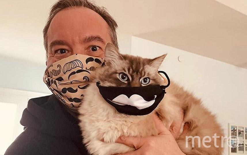 Под хештэгом #Masks4All люди делятся в социальных сетях своими лучшими фотографиями в масках. Фото instagram @cortgallup