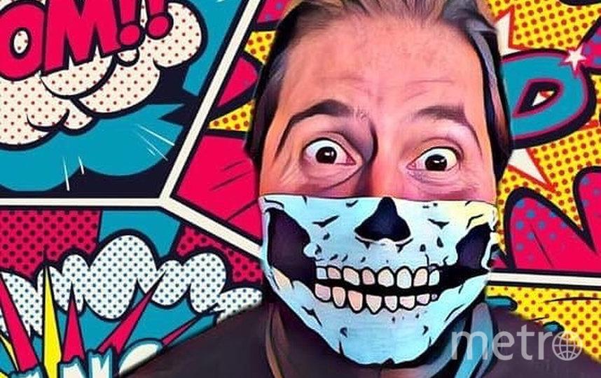 Под хештэгом #Masks4All люди делятся в социальных сетях своими лучшими фотографиями в масках. Фото instagram @ricardoalenaobrasil