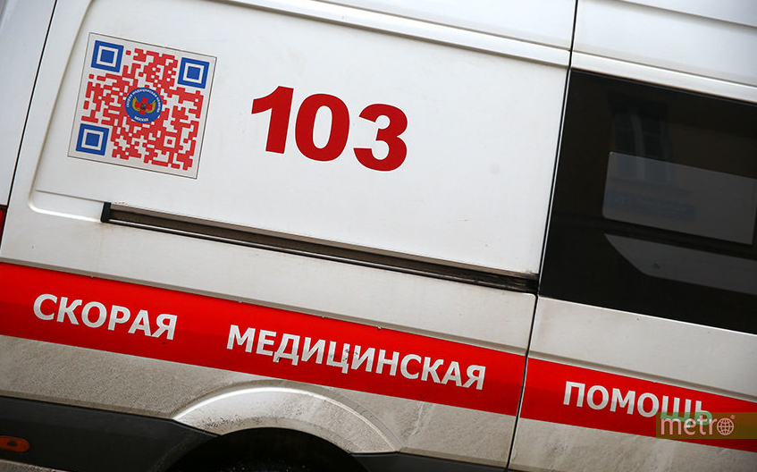 В результате пожара на стройке инфекционной больницы в Новой Москве погиб один человек. Фото Василий Кузьмичёнок