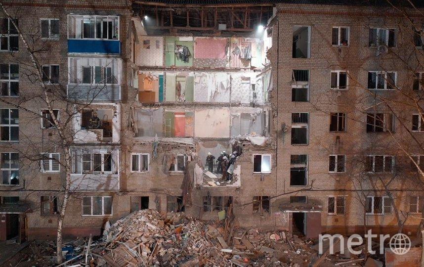 Жилой дом в Орехово-Зуево, где произошёл взрыв газа, будут восстанавливать. Фото https://50.mchs.gov.ru/