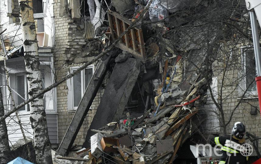Взрыв газа произошёл в жилом пятиэтажном доме в Орехово-Зуево днём 4 апреля. Фото AFP