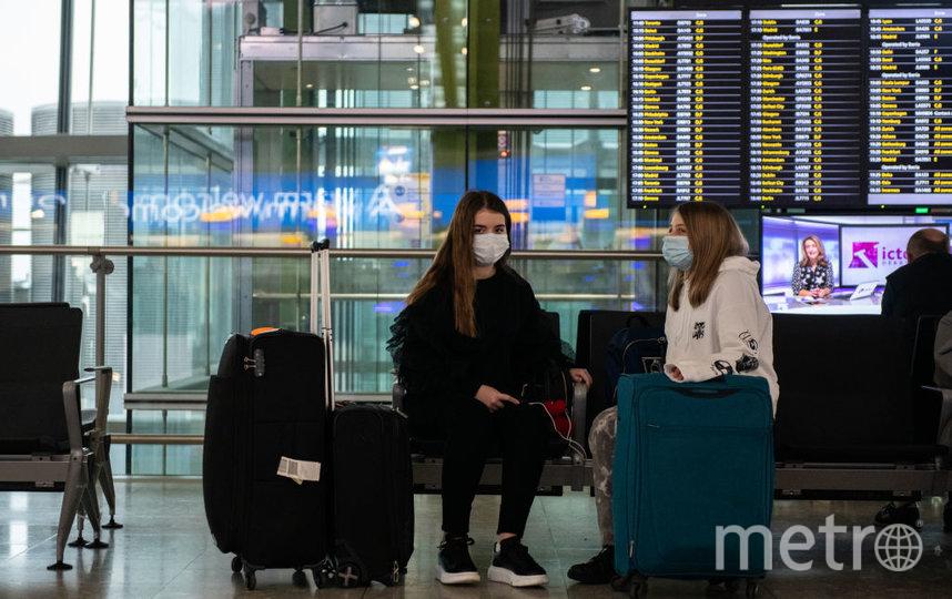 Десятки граждан России в настоящее время живут в аэропорту Сеула из-за прекращения авиасообщения. Фото Getty