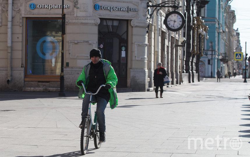 """Центр Санкт-Петербурга 5 апреля. Фото Святослав Акимов, """"Metro"""""""