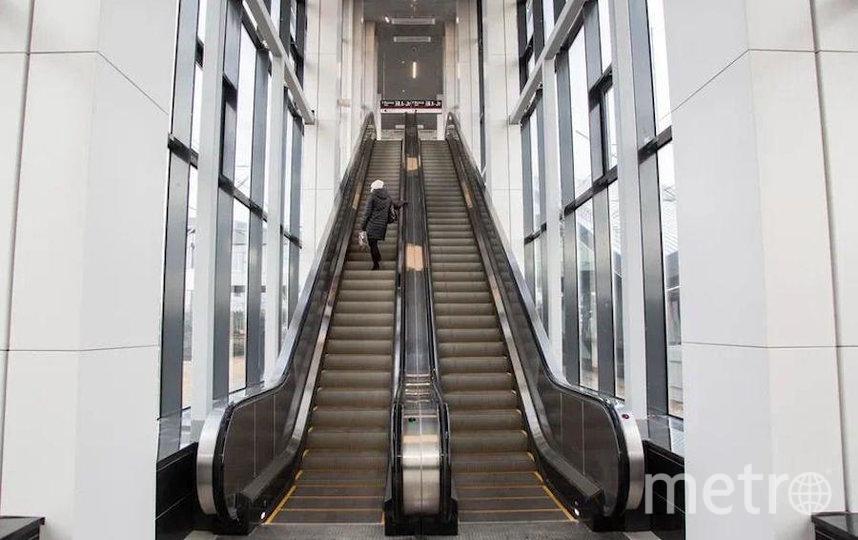 """Станция Опалиха МЦД-2 после реконструкции. Фото предоставлено Департаментом транспорта, """"Metro"""""""