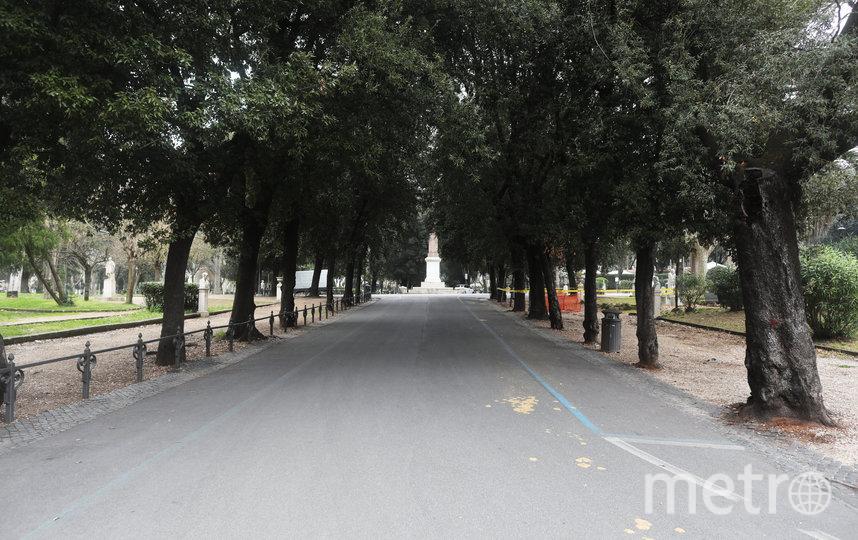 Вилла Боргезе – ландшафтный парк в Риме, один из трёх крупнейших парков города, Италия. Фото Getty