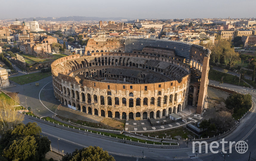 Колизей в Риме, Италия. Фото AFP