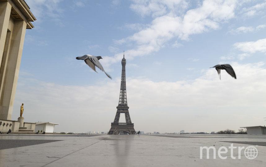 Безлюдный Париж, Франция. Фото Getty