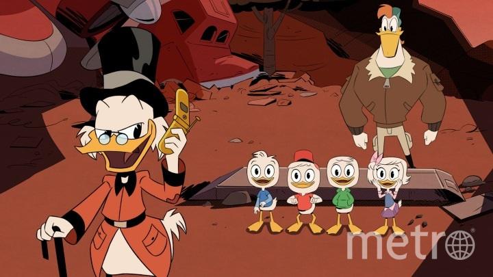 """Кадр из сериала """"Утиные истории"""". Фото Disney"""
