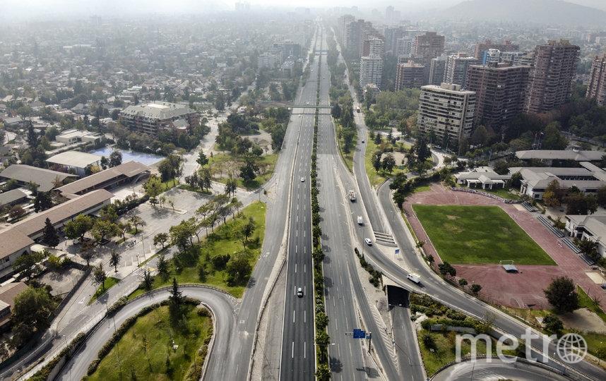Сантьяго, Чили. Фото AFP