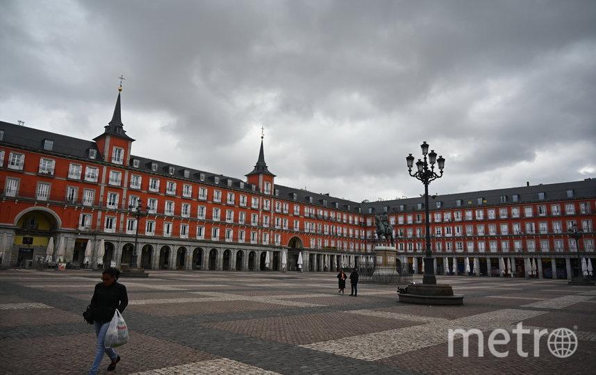 Пласа-Майор в Мадриде, Испания. Фото AFP