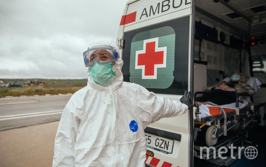 В Испании больше 19 тысяч медработников заразились COVID-19. Фото Getty