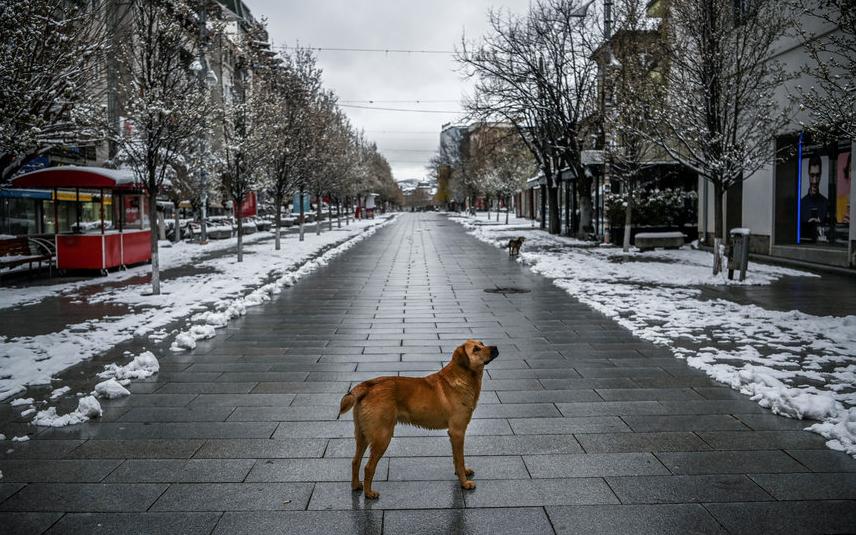 Приштина, Косово. Фото AFP