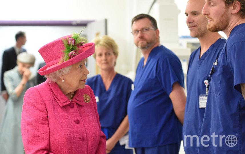 Королева Елизавета II поблагодарила британских медицинских работников. Архивное фото. Фото Getty