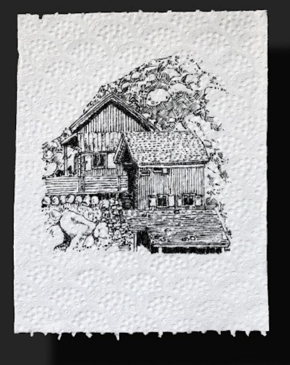"""В рамках проекта художники со всего мира создают шедевры на """"новом холсте"""" – листке туалетной бумаги. Фото предоставлено GIVE-A-SHEET"""