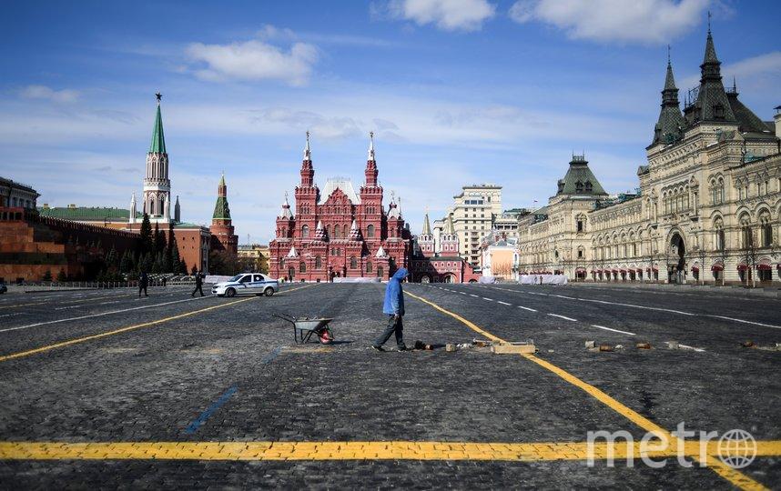Согласнно данным опроса ВЦИОМ, режим самоизоляции в столице соблюдают 90% москвичей. Фото AFP