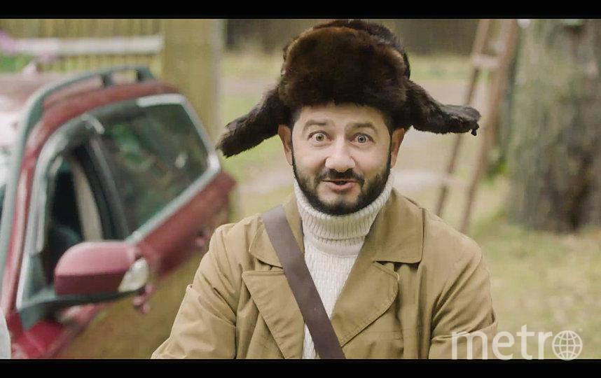 Михаил Галустян в образе почтальона. Фото Предоставлено пресс-службой телеканала СТС.
