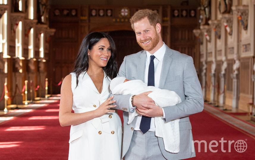 Сын Меган Маркл и принца Гарри Арчи родился 6 мая 2019 года в Лондоне. Фото Getty