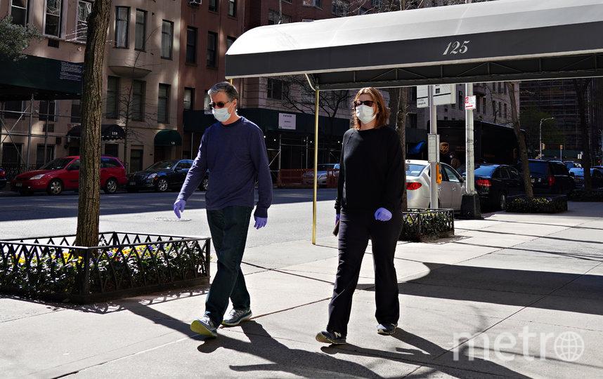 Жители Нью-Йорка. Фото Getty