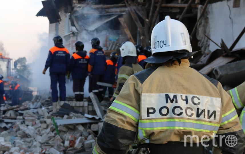 Место ЧП. Фото ГУ МЧС России по Нижегородской области