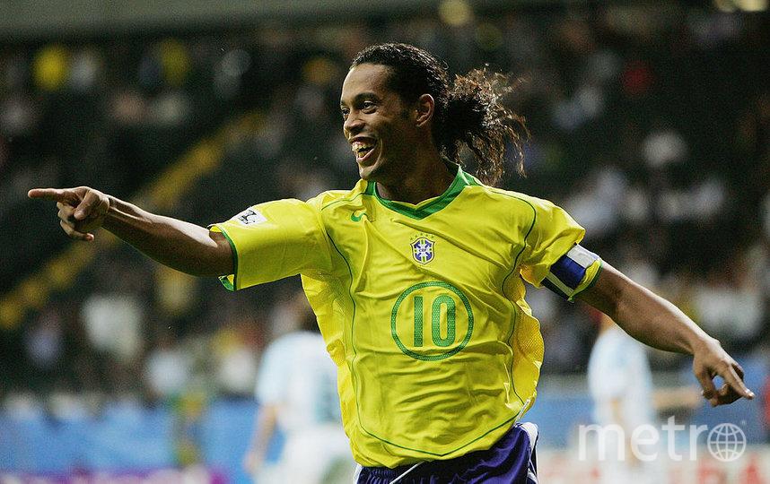 Бразильский футболист Роналдиньо. Фото Getty