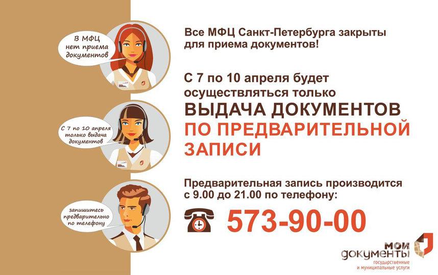 Как работают МФЦ Петербурга. Фото gu.spb.ru/mfc