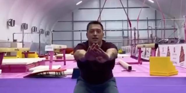 Упражнения на ягодичные мышцы и бёдра.
