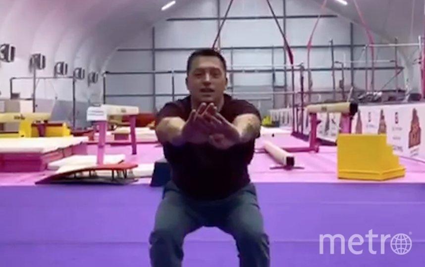 Упражнения на ягодичные мышцы и бёдра. Фото Скриншот Youtube