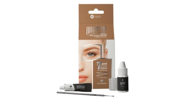 Набор для домашнего окрашивания бровей и ресниц Innovator Cosmetics Bronsun (370 руб.).