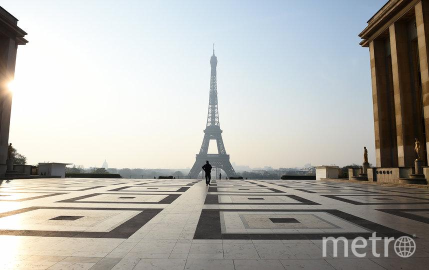 Пустынная Франция на время карантина. Фото Getty