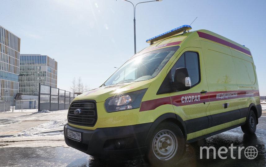 В Москве за сутки выявили более 800 новых случаев заражения COVID-19. Фото Василий Кузьмичёнок