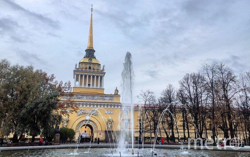 Фонтаны Петербурга. Фото Instagram