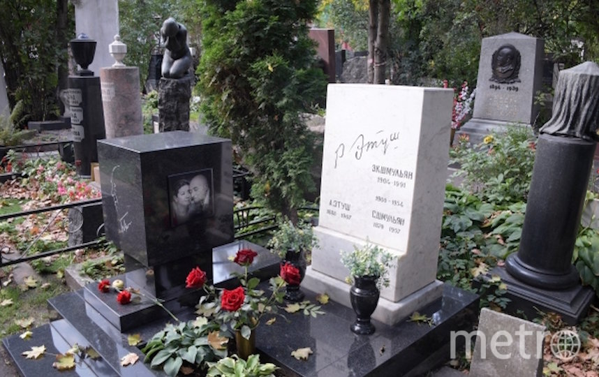 В Москве введены ограничения на посещение кладбищ из-за коронавируса. Фото РИА Новости
