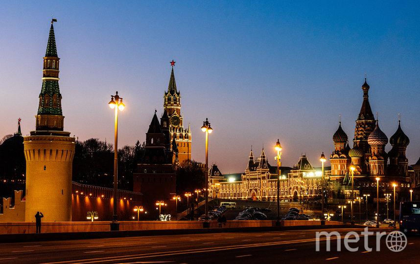 Москва временно опустела из-за вируса. Фото AFP