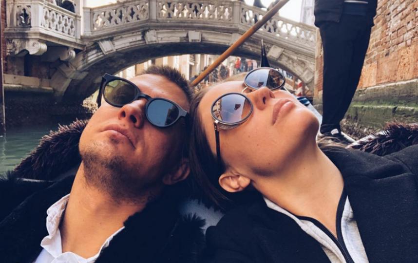 Павел Прилучный и Агата Муцениеце. Фото Скриншот Instagram: @agataagata