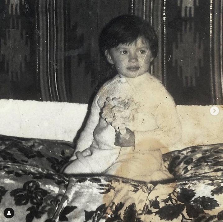 Надежда Мейхер-Грановская в детстве. Фото Скриншот Instagram: @nadyameiher