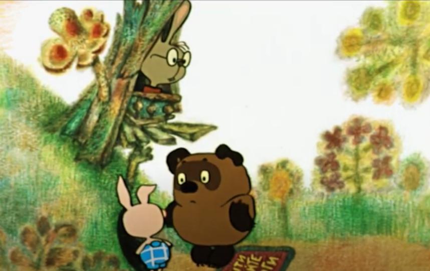 "Кролик из ""Винни Пуха"" посоветовал не ходить в гости по утрам. Фото скриншот: youtube.com/watch?v=wI8vB5m0yOk&feature=emb_title"