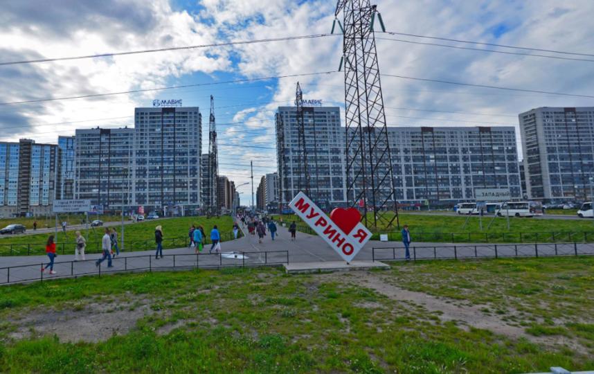 Мурино. Фото Яндекс.Панорамы