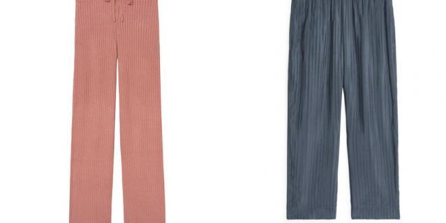 Брюки Victoria's Secret / Домашние брюки из купро ARKET.