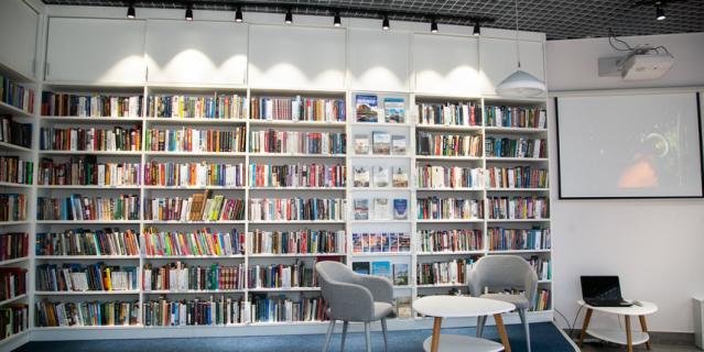 Библиотека №8 Фрунзенского района.