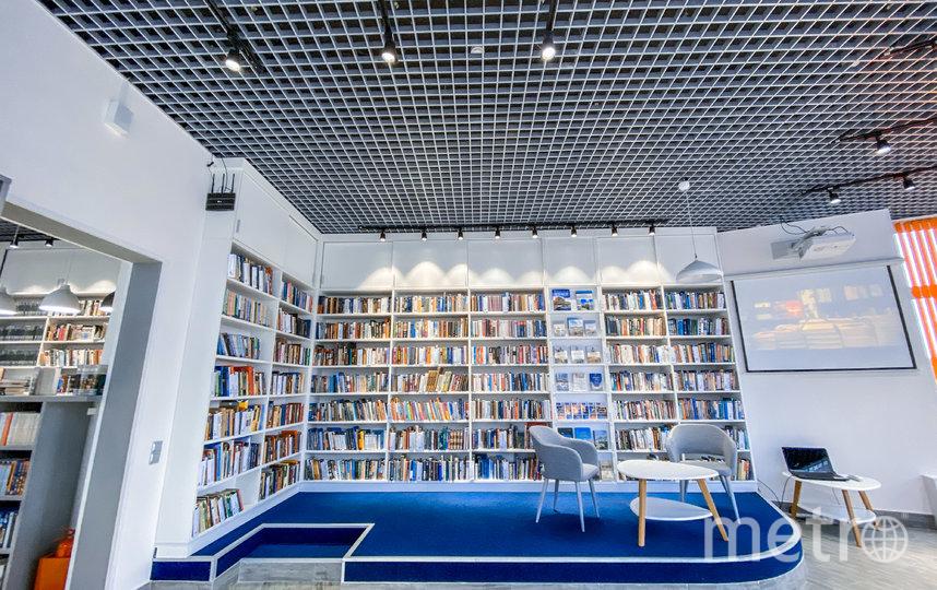 Библиотека №8 Фрунзенского района. Фото предоставлено библиотекой