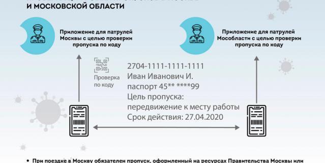 Цифровые пропуска в Москве: как получить, нужны ли они для ...