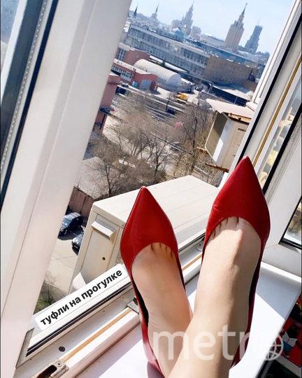 Туфли автора флешмоба. Фото Скриншот Instagram/martavesna