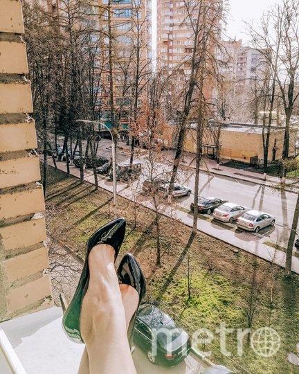 Флешмоб #туфлинапрогулке. Фото Скриншот Instagram/natalia_knyazevaa