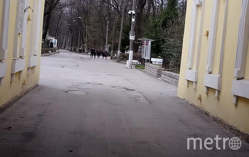 """Смоленское кладбище известно по всей России из-за мощей Ксении Блаженной. Фото Фото автора, """"Metro"""""""
